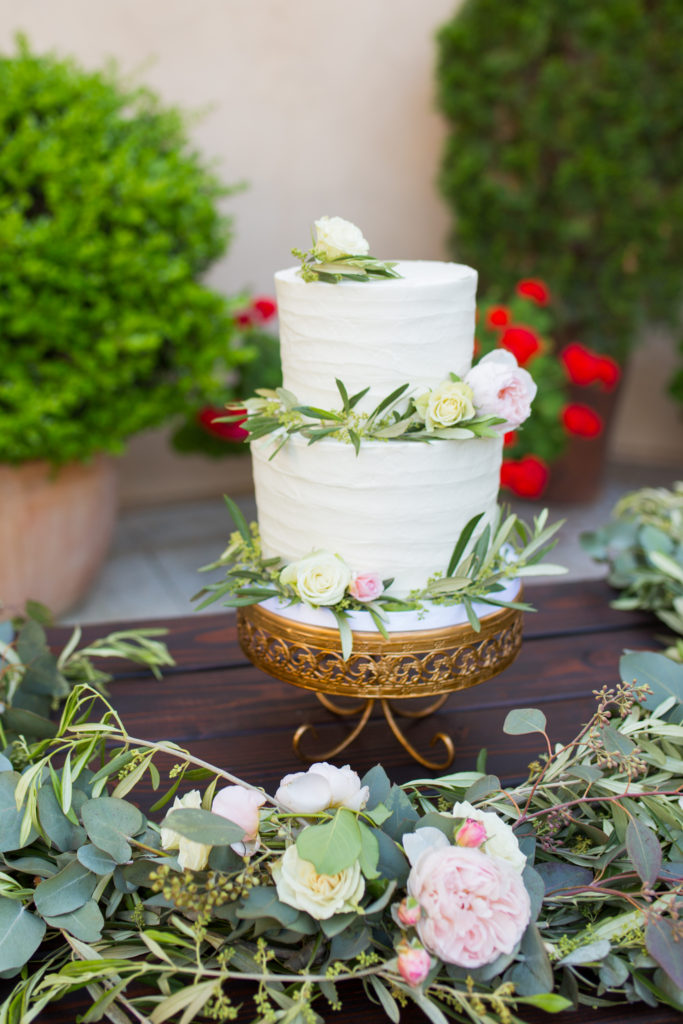 Wedding Inspiration Mediterranean Cake